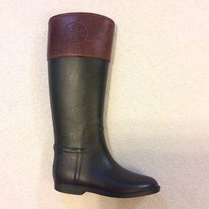 🌺 One Tory Burch Rain Boots 🌺